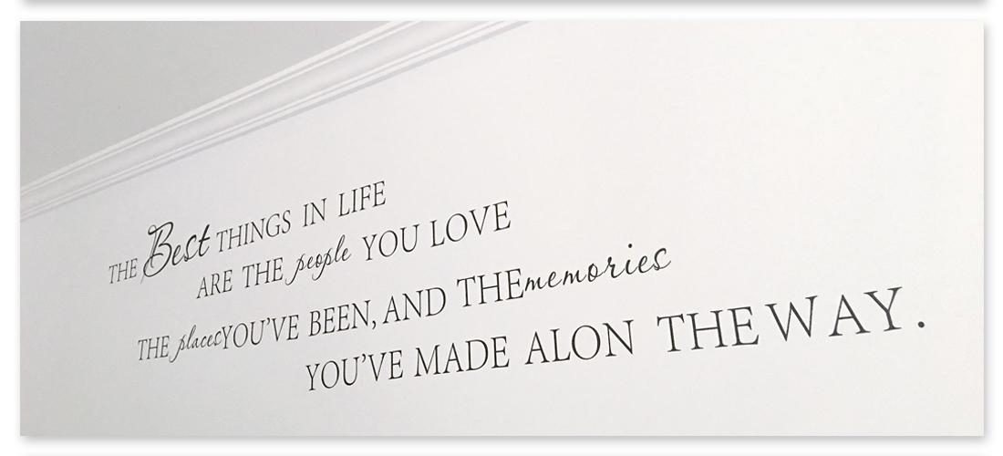Frases para tu hogar love design for Puertas insonorizadas para el hogar